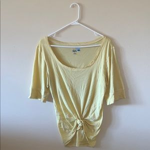 Light yellow t-shirt